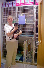 Georgetown Animal Clinic, PC - Veterinarian serving Williamsville, Amherst and Buffalo NY areas: Separate Wards for Dogs, Cats and Exotics